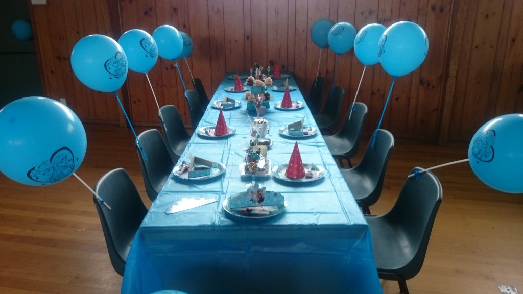Elsa - Frozen Themed 5th Birthday Party - Photo courtesy of the Fruean family